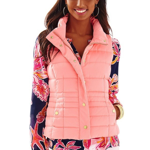 Lilly Pulitzer Jackets & Blazers - Lilly Pulitzer Isabella Puffer Down Vest